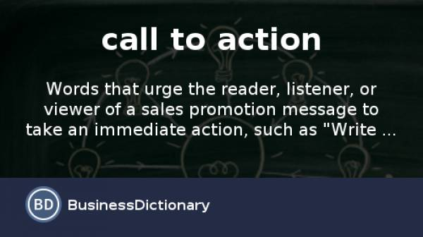 What is a successful Call To Action?
